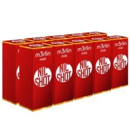 PROMOTIE-PACHET 10 M3rlin Shot Nicotina 20mg 10ml