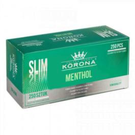 Tuburi Korona Slim 250 Menthol
