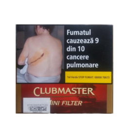 Club Master Mini Filter Red