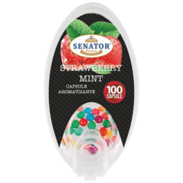Capsule Aromatizante Senator – Strawberry Mint 100buc
